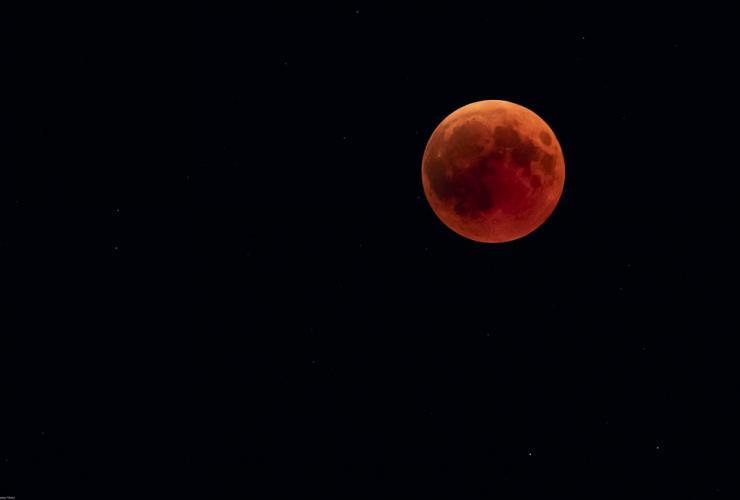 Eclipse lunaire - Super Lune de sang