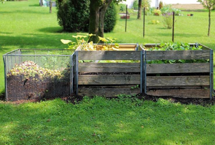 Compost dechets balladins