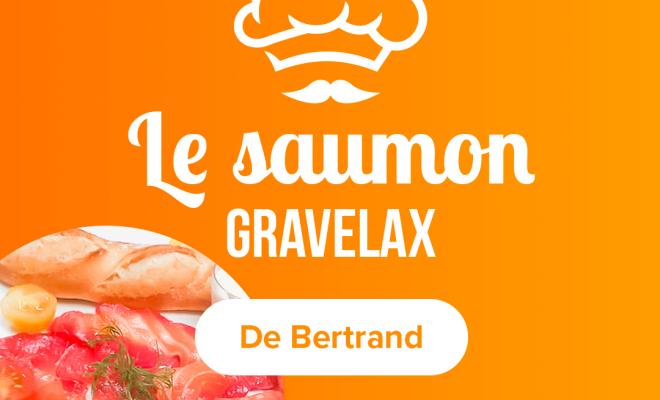 Recette du Saumon Gravlax à la betterave