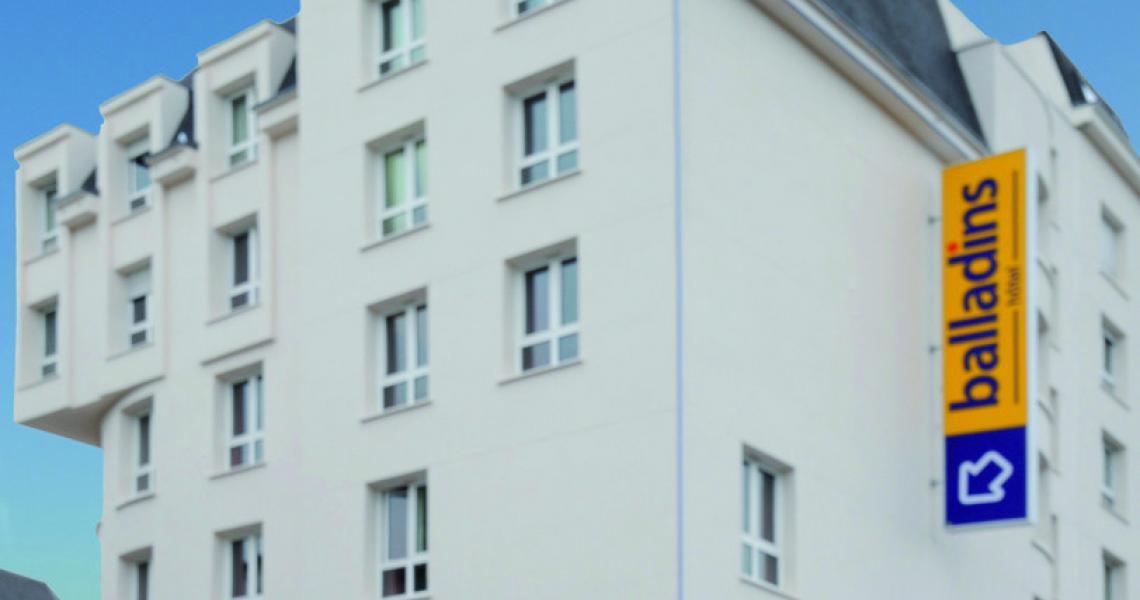 Façade - Hôtel balladins Eaubonne
