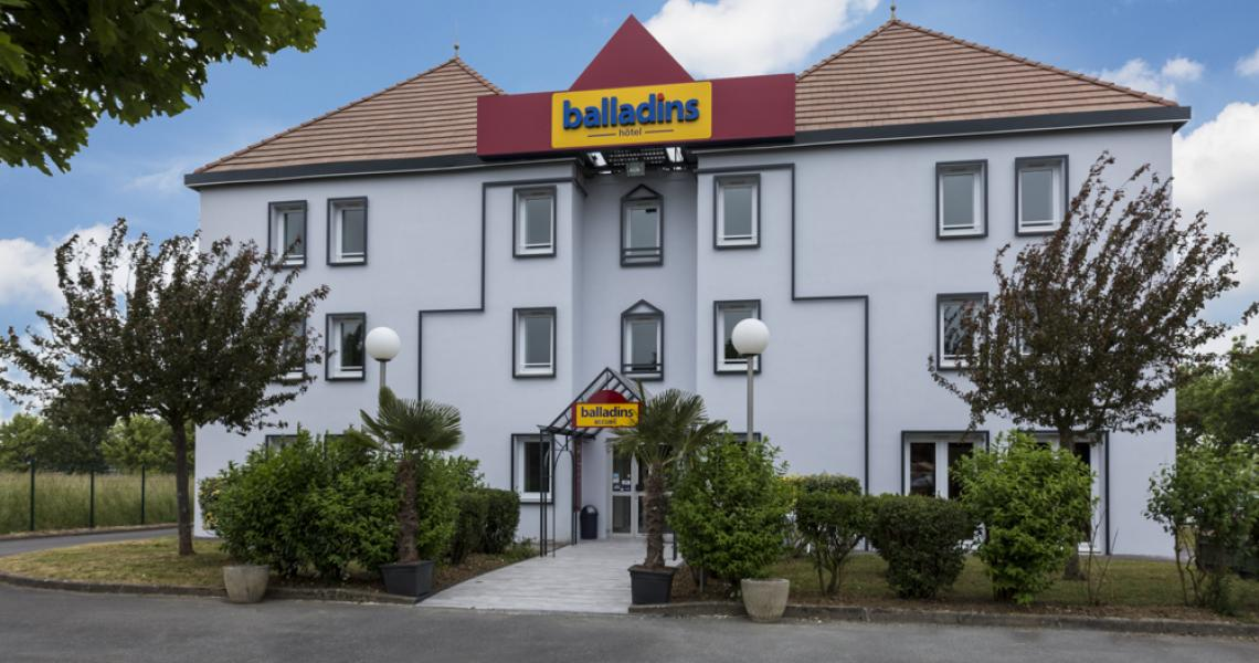 balladins saint-quentin / gauchy - façade