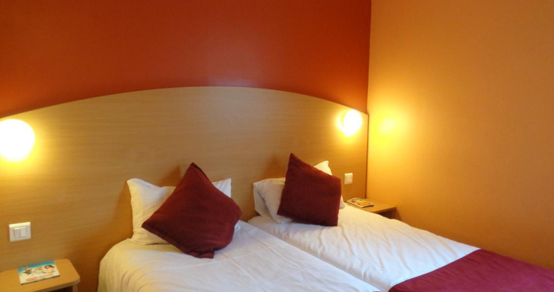 Chambre Twin - Hôtel balladins Roissy / Saint-Mard