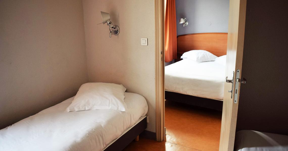 Chambre Quadruple - balladins Vigneux-sur-Seine