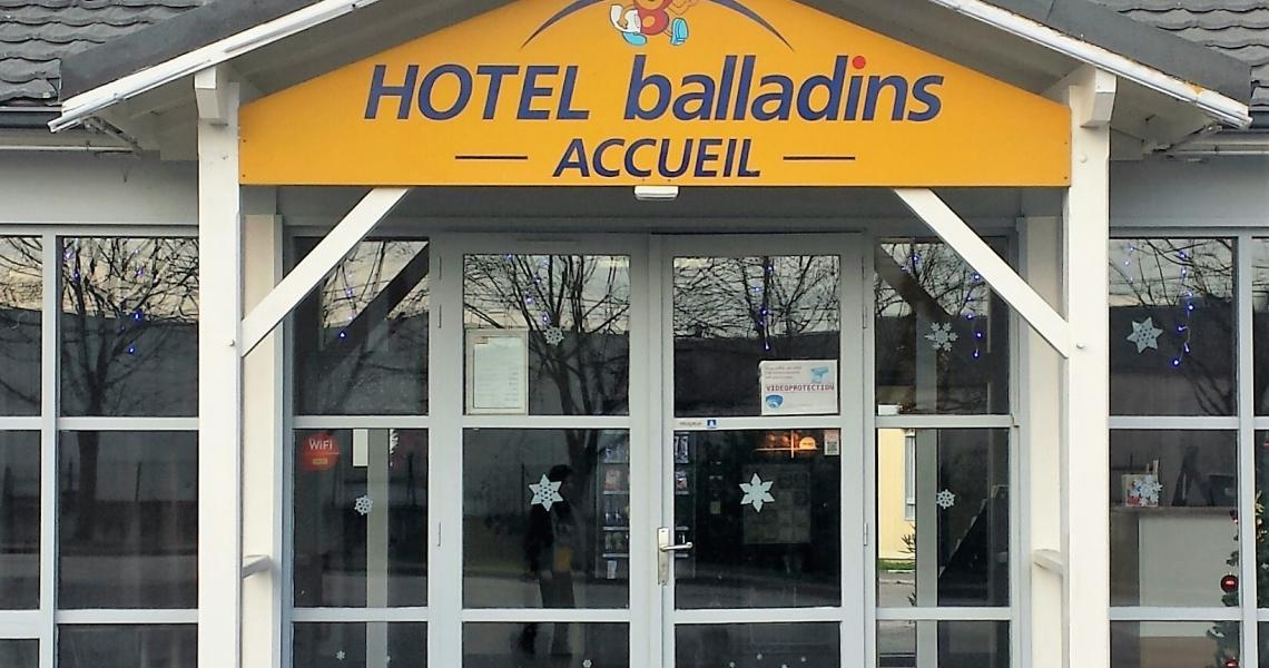 Reception - balladins Vigneux-sur-Seine