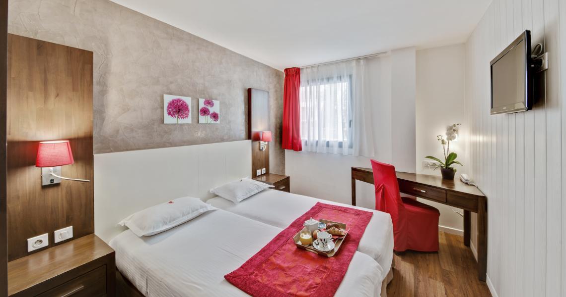 Chambre à 2 lits - urban by balladins - Villejuif