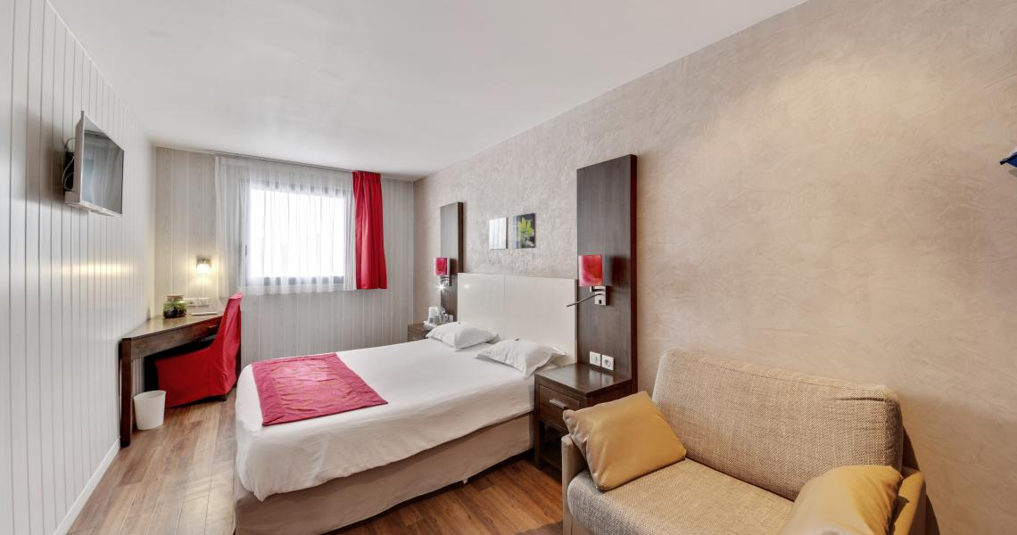 Chambre Double - urban by balladins - Villejuif