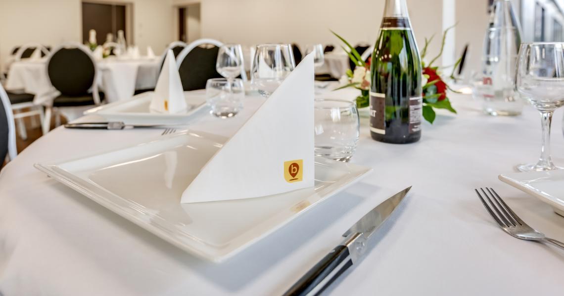 Banquet - inspiration by balladins - Caen Mémorial