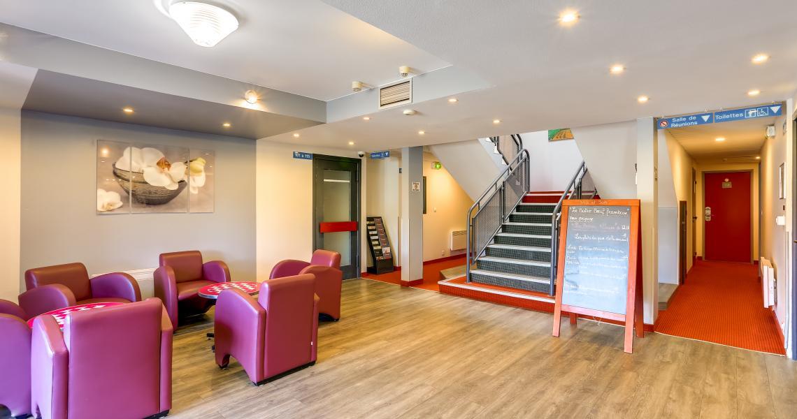 Hall - Hôtel initial Amiens / Longueau by balladins