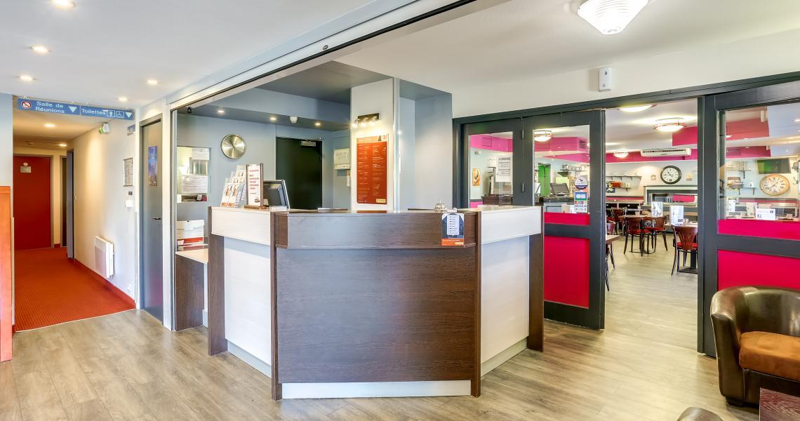 Lobby / Accueil-Réception - Hôtel initial Amiens / Longueau by balladins