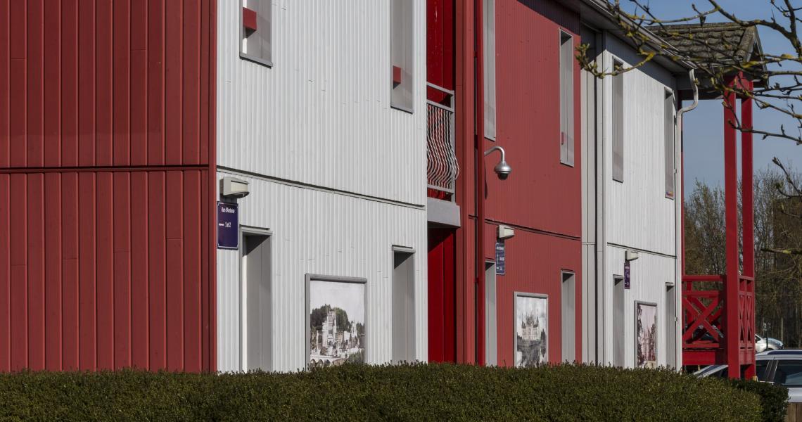 Façade - initial by balladins - Blois