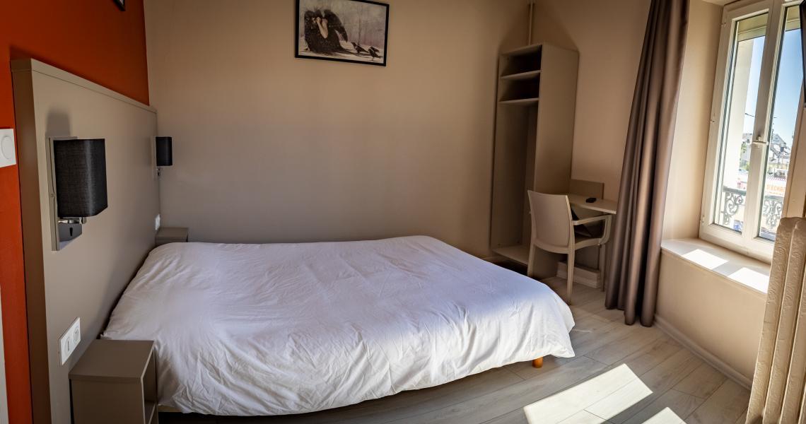 Hotel de la gare chateauroux - chambre double-2