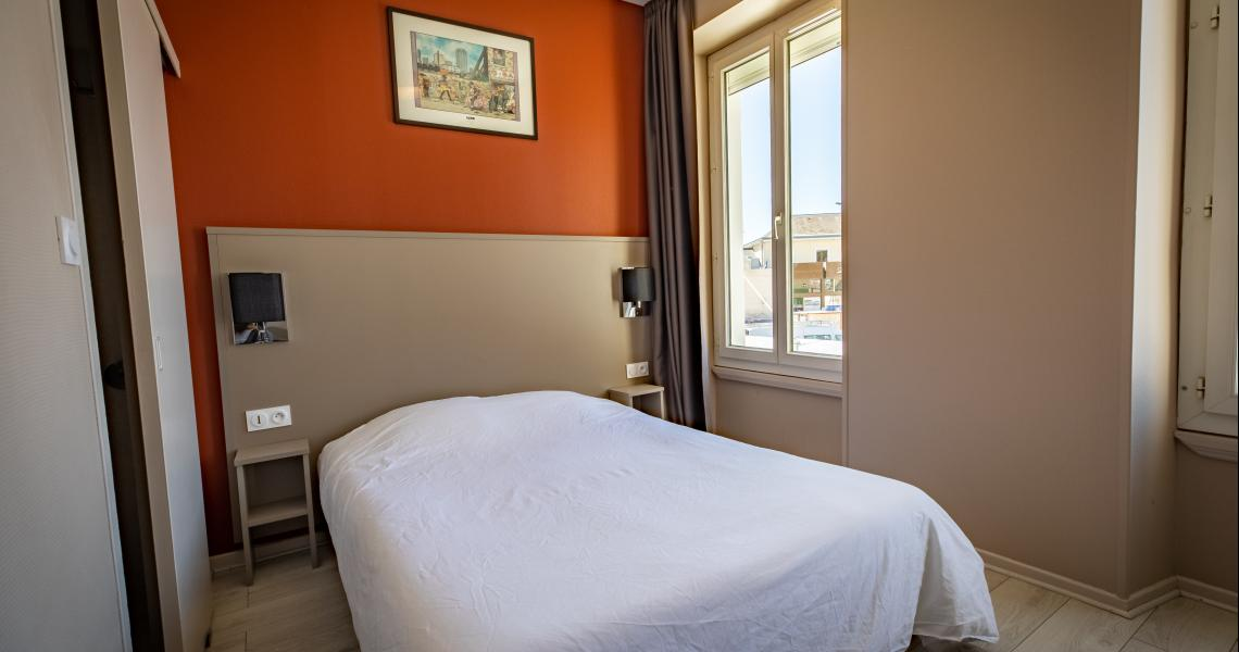 Hotel de la gare chateauroux - chambre double 2-2