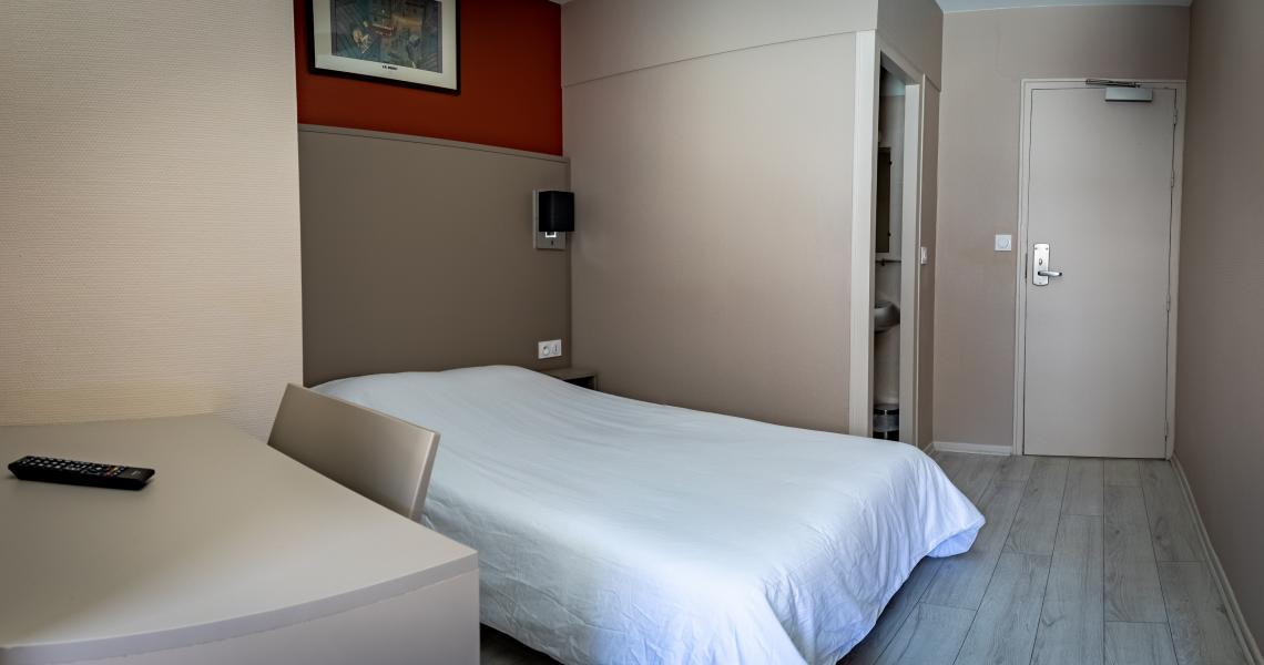Hotel de la gare chateauroux - chambre double 4-2