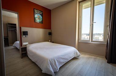 Hotel de la gare chateauroux - chambre familiale 1