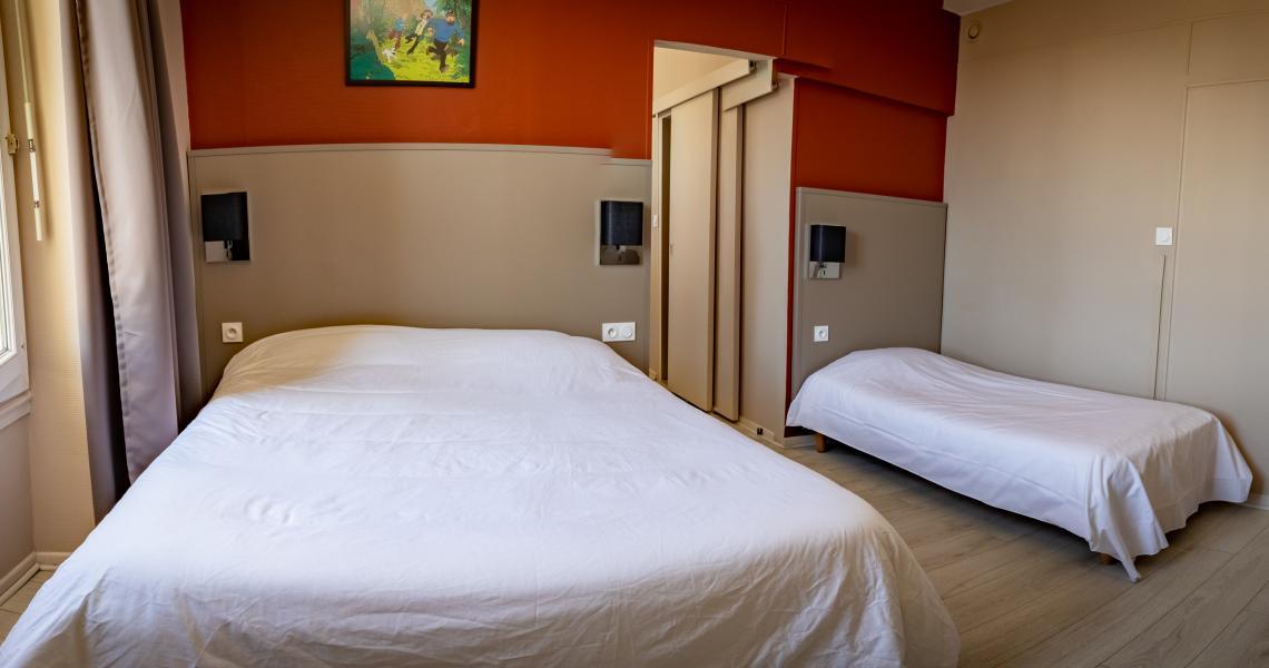 Hotel de la gare chateauroux - chambre familiale 4
