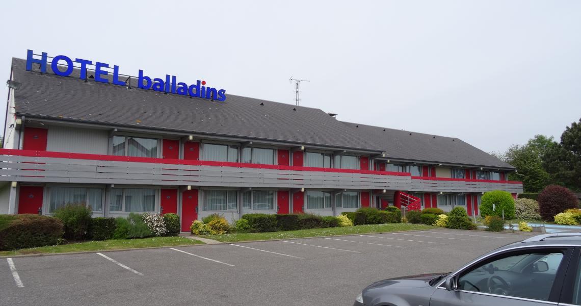 Facade - initial by balladins dieppe