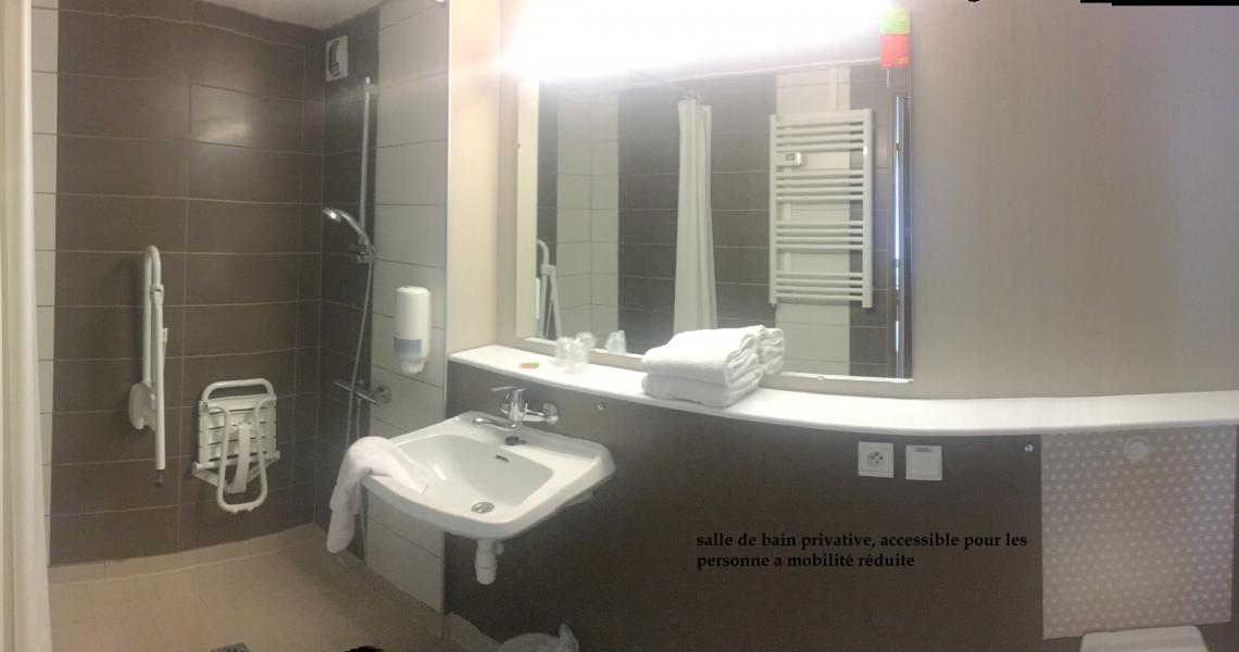 Salle de bains (pmr) - initial by balladins dieppe