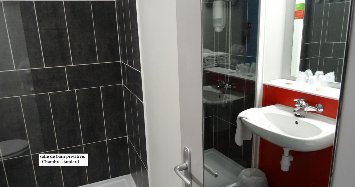 Salle de bains 3 - initial by balladins dieppe
