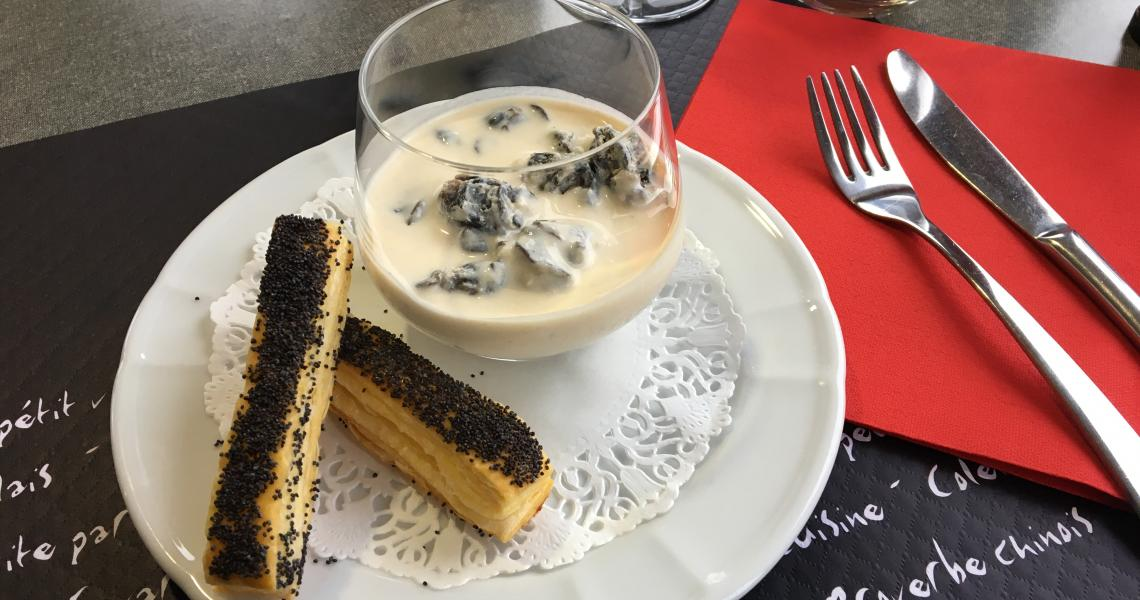 Restaurant - verrine escargots - authentic by balladins - Dijon / Marsannay