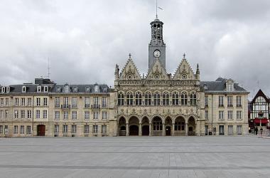 l'Hotel de ville de Saint-quentin