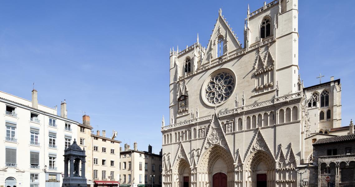 La Cathédrale Saint-Jean, au cœur du Vieux-Lyon