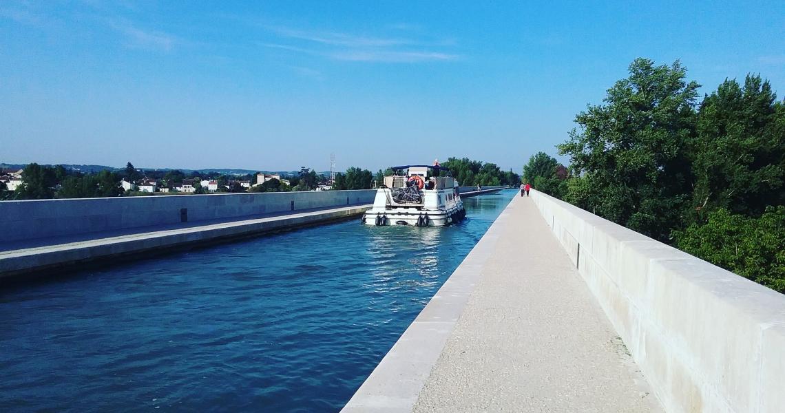 Pont Canal - Crédit photo : Destination Agen