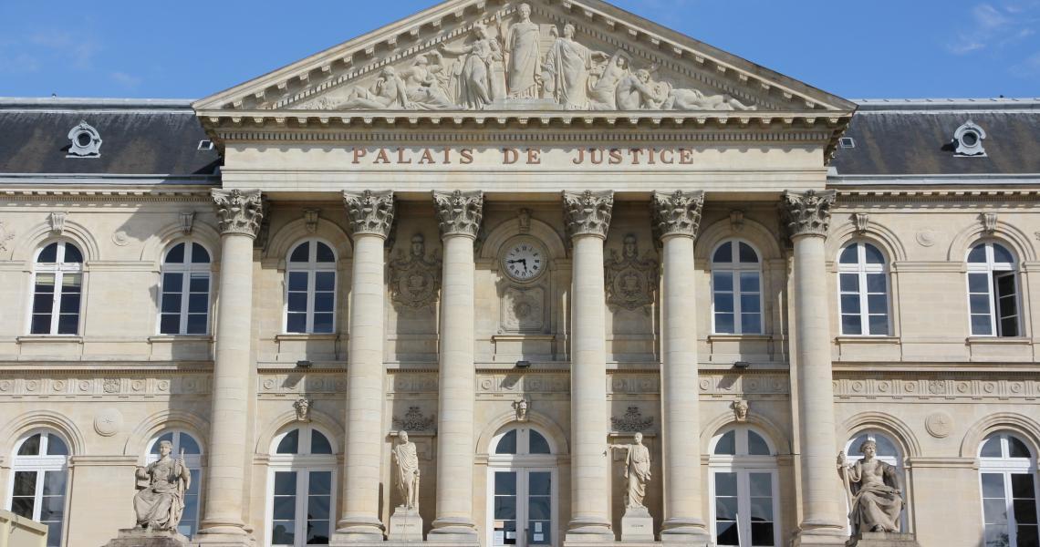 Tribunal d'Amiens - Crédit photo www.amiens-tourisme.com
