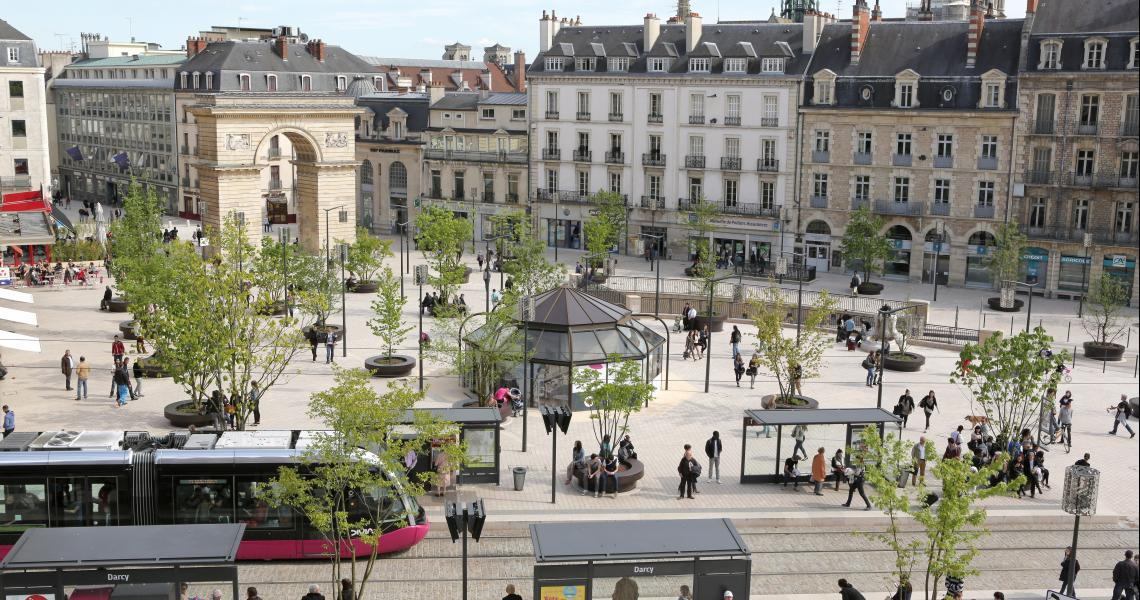 Place Darcy - Crédit photo : Ville de Dijon