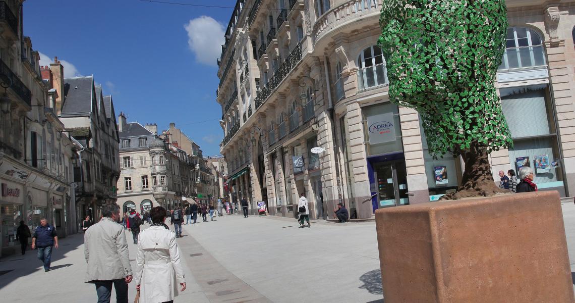Rue de la liberte - Crédit photo : Ville de Dijon