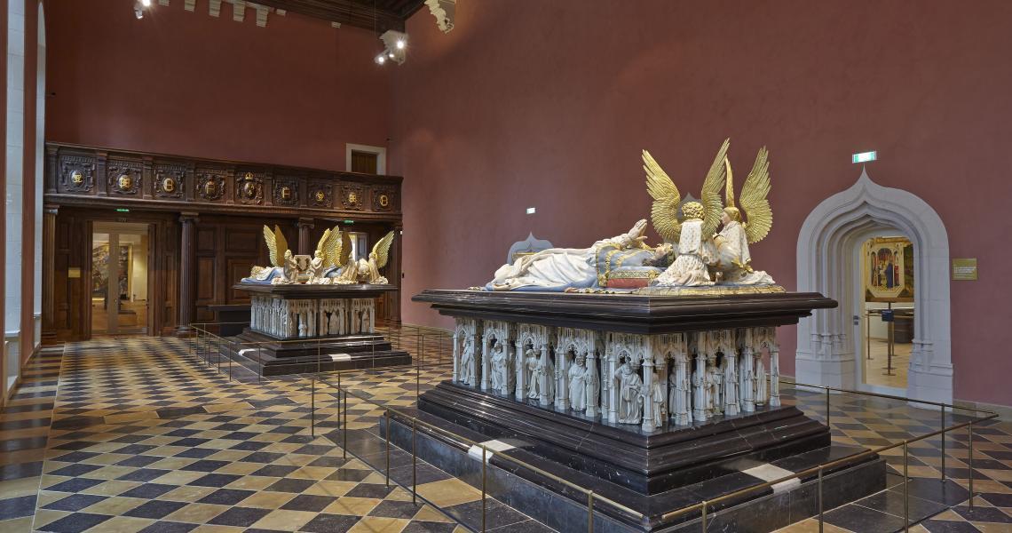 Salle des tombeaux  - Crédit photo : Musée des beaux-arts Dijon photo Francois Jay