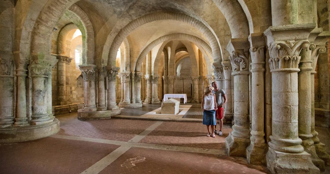 Crypte Saint Eutrope - Crédit photo : S. Laval