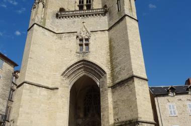 Collégiale Notre Dame - Crédit photo : OT Villefranche-de-Rouergue