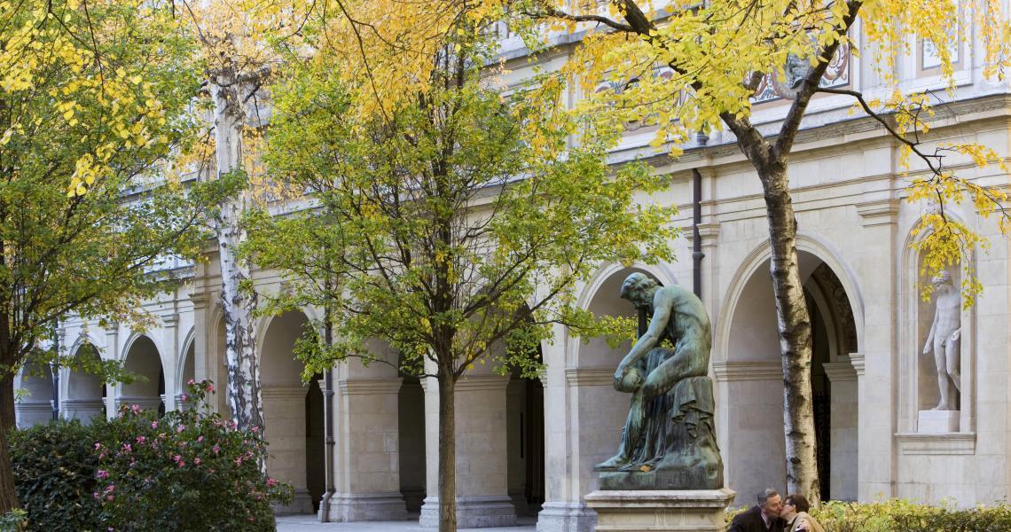 Vue extérieure de l'Opéra de Lyon