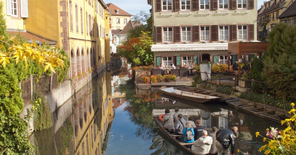 promenade en barque sur les canaux