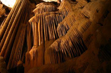 L'orgue de la grotte de clamouse