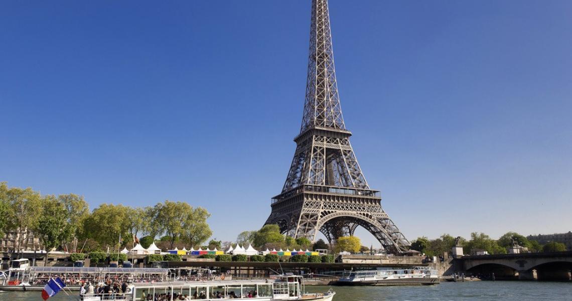 Depuis les bords de Seine