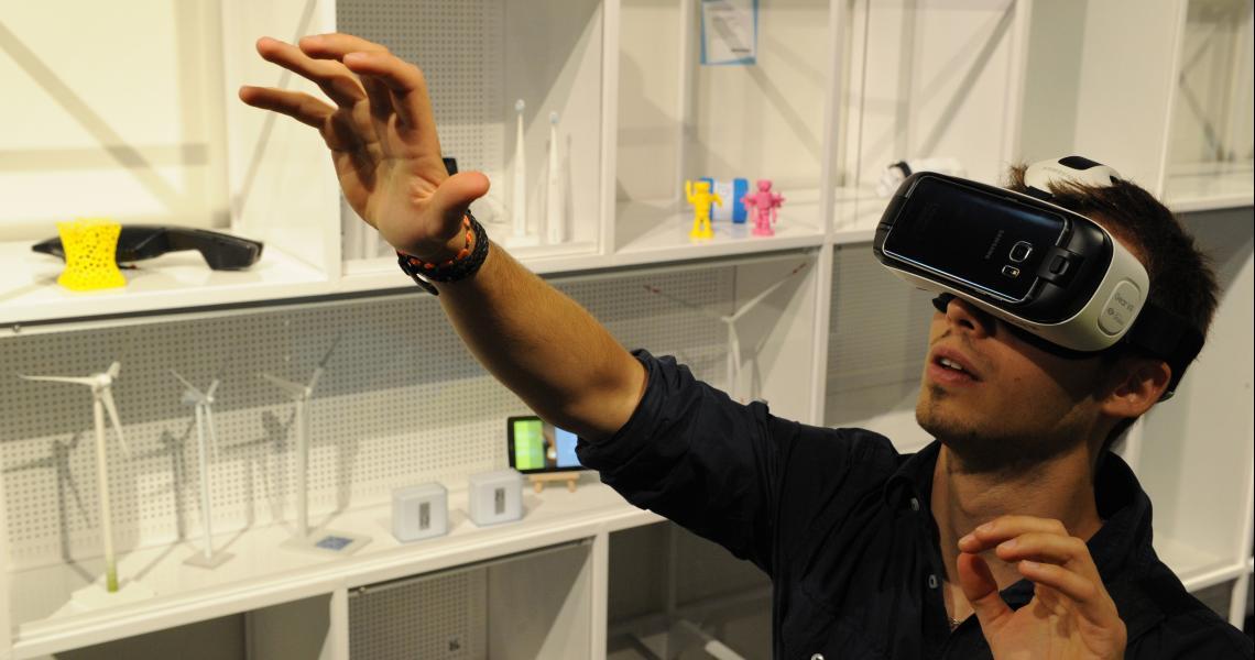 Essayer les casques de réalité virtuelle