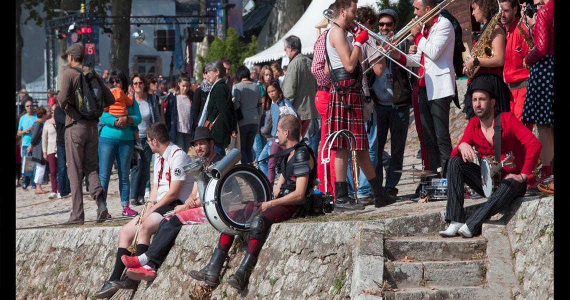 Musiques au festival de loire