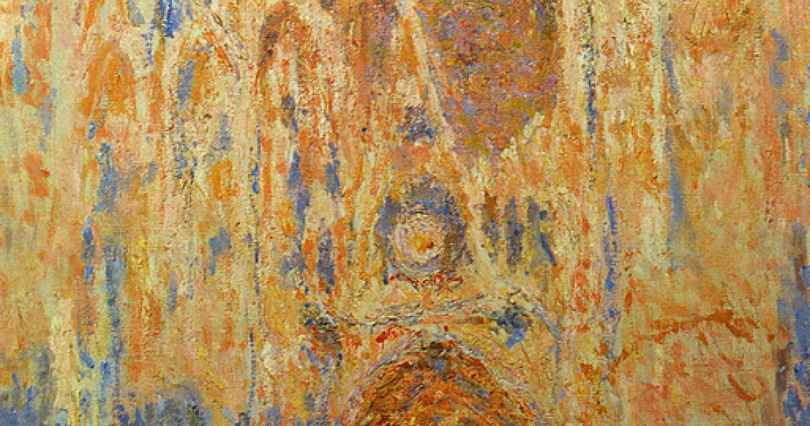 La cathedrale de rouen par Monet