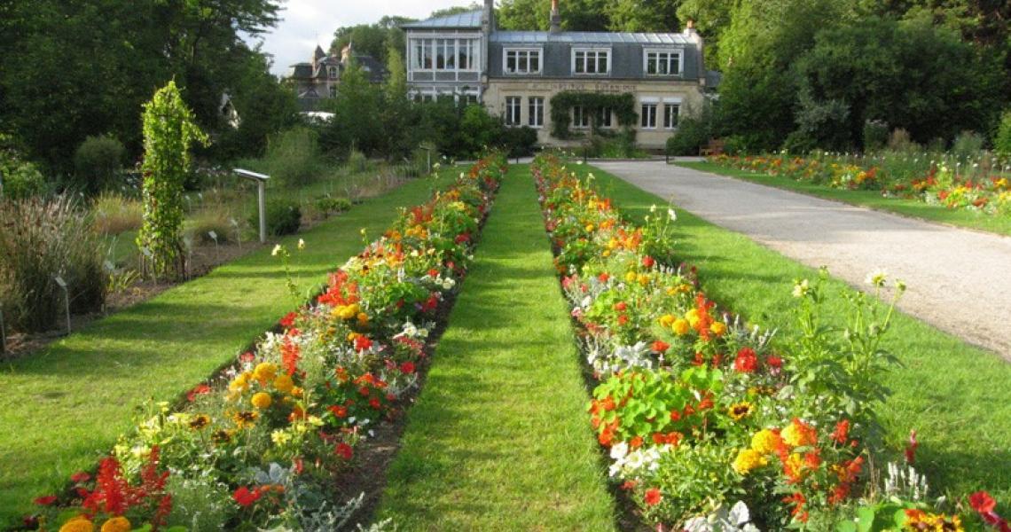 Jardin des plantes caen