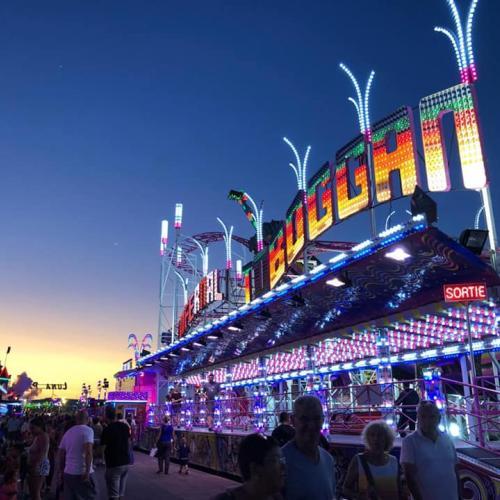 Amusez-vous chaque été en famille au Luna Park Palavas