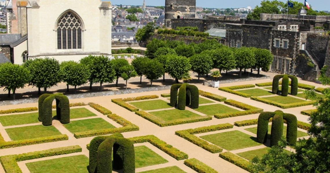 Angers - jardins du chateau 2
