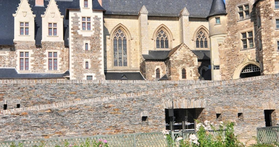Angers - jardins du chateau