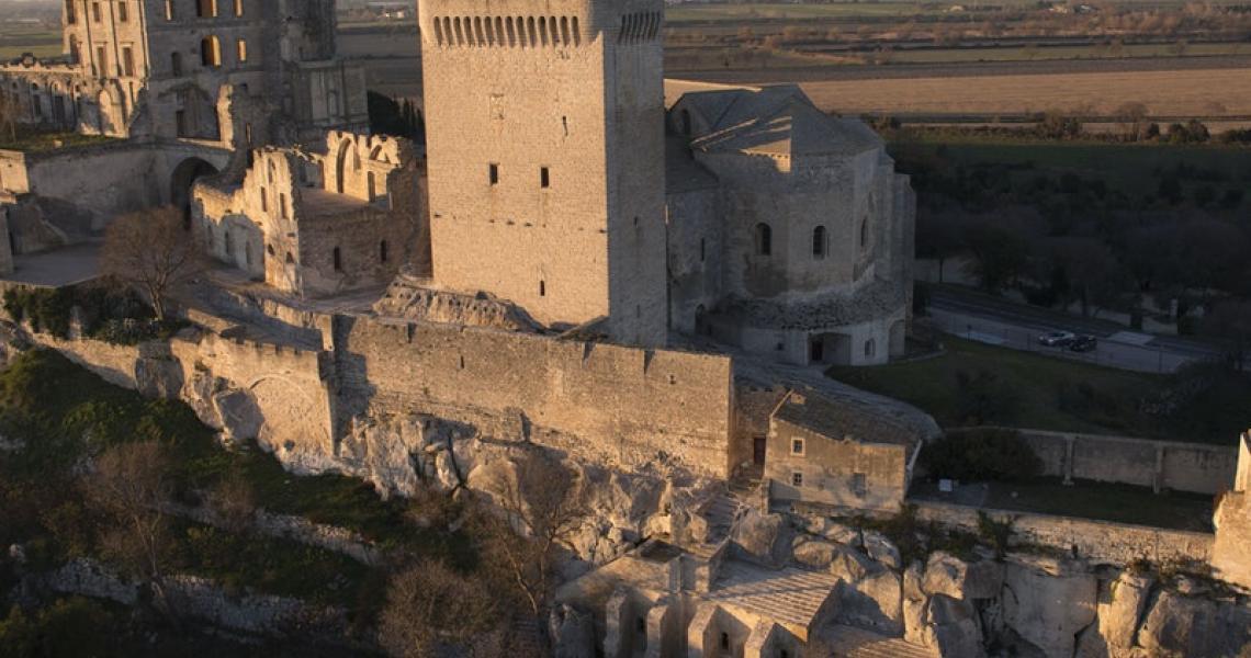 Abbaye de Montmajour - Crédits L. Fortin