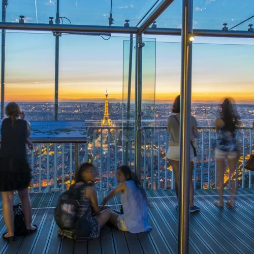 Tour Montparnasse : Vue panoramique au 56ème étage