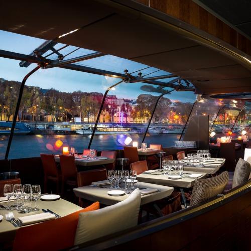 Croisière et dîner gastronomique sur la Seine