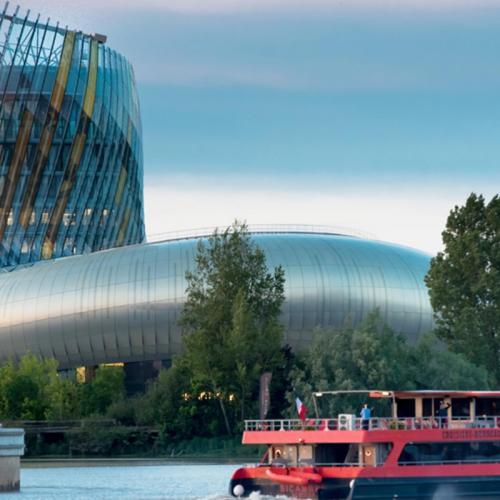 Croisière sur la Garonne & dégustation de vins depuis le dock de la Cité du Vin