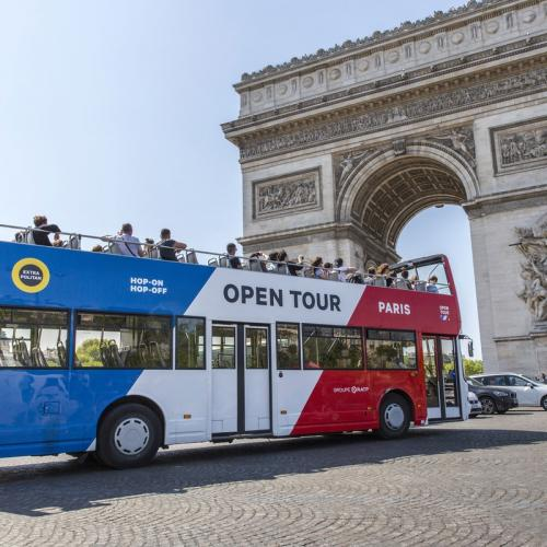 Visite de Paris en Bus Hop-on Hop-off