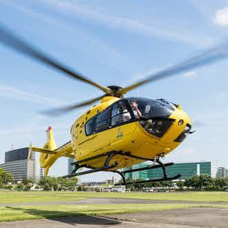 Vol en hélicoptère de Paris à Versailles