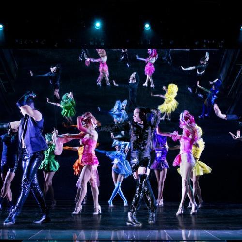 Soirée spectacle cabaret au Paradis Latin